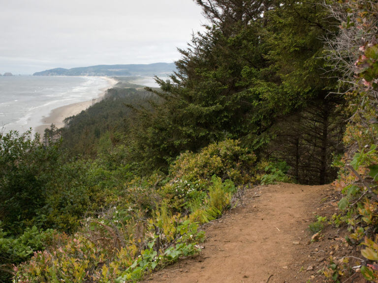 Cape Lookout State Park hiking trail