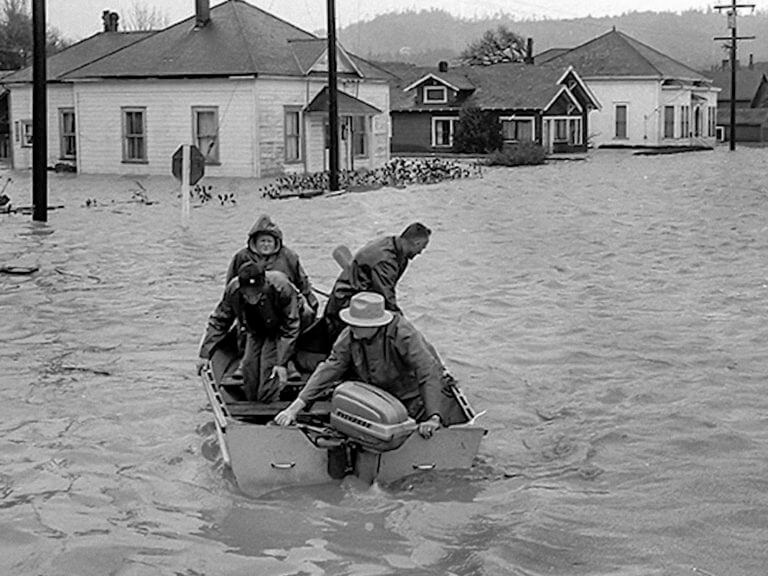 Flooding in the 1960's
