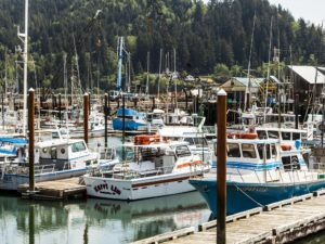 North Coast Food Trail, Boats in Garibaldi