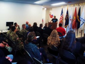 A presentation of veterans' services