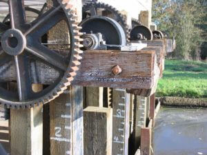 Industrial gears at Thompson's Mills