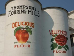 Silos at Thompson's Mills