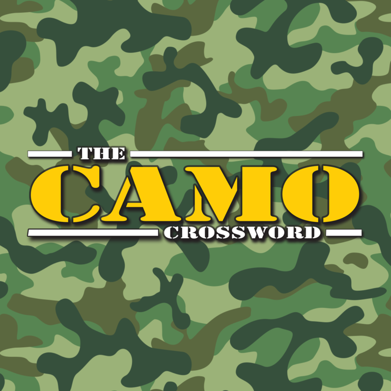 The Camo Crossword