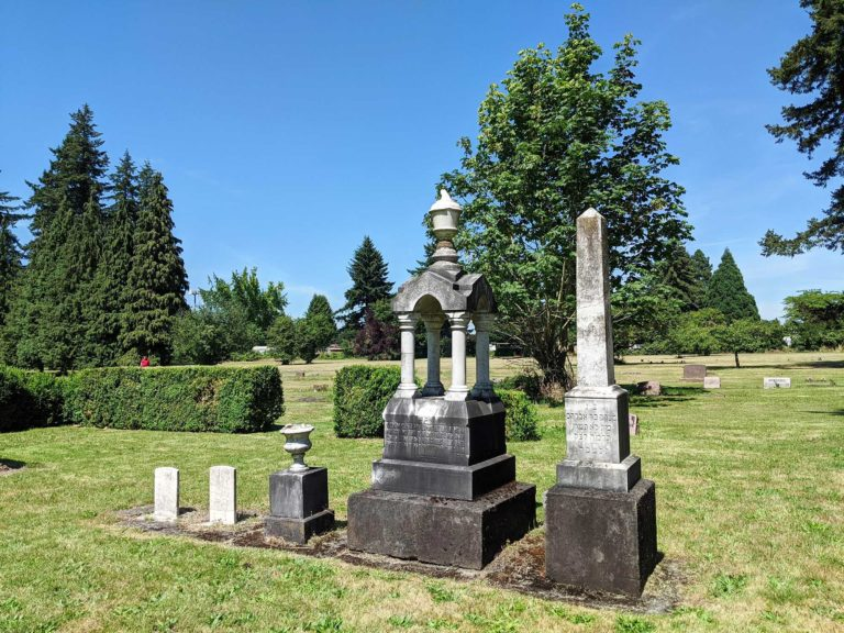Albany Hebrew Cemetery markers