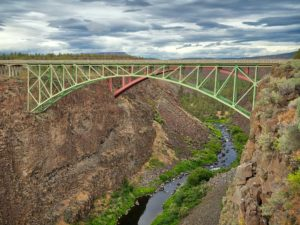 Bridges over the Crooked River Gorge