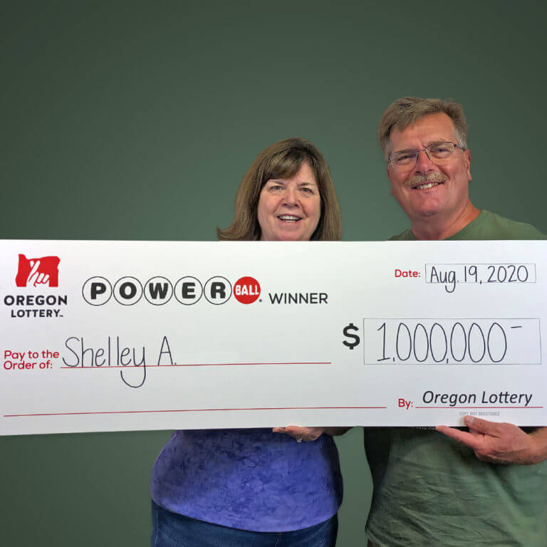 Shelley A Powerball winner