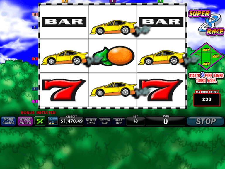 Super 8 Race game image 3