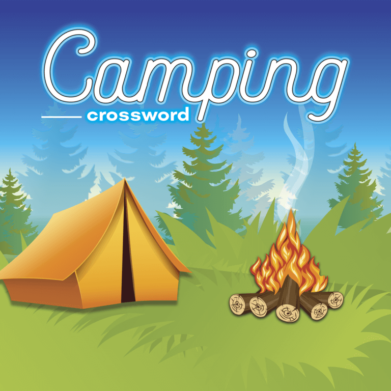 Camping Crossword tile