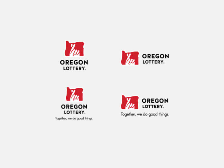 preview of Oregon Lottery logo press pack