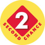 Second Chance logo on yellow