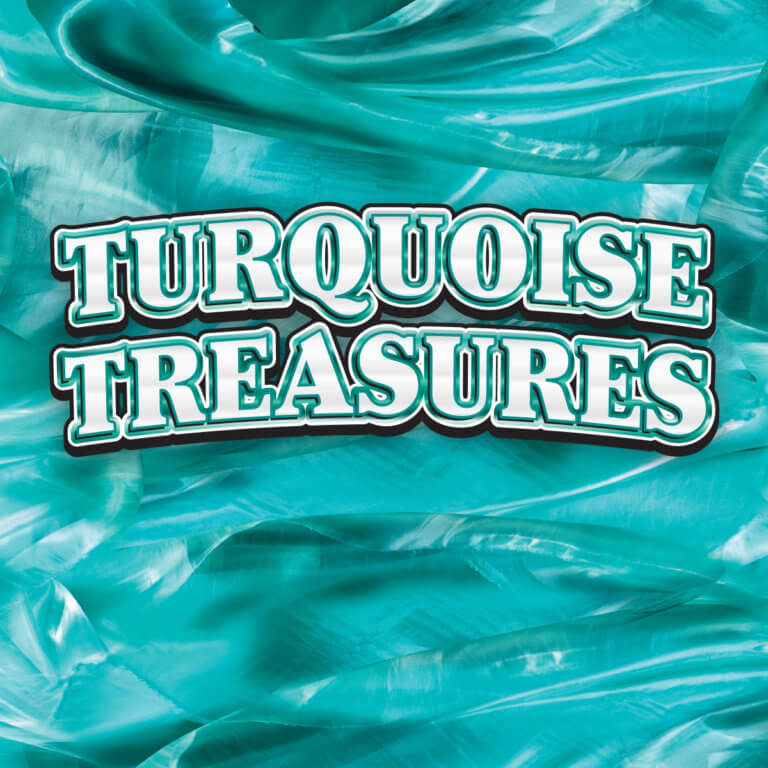 Turquoise Treasures tile
