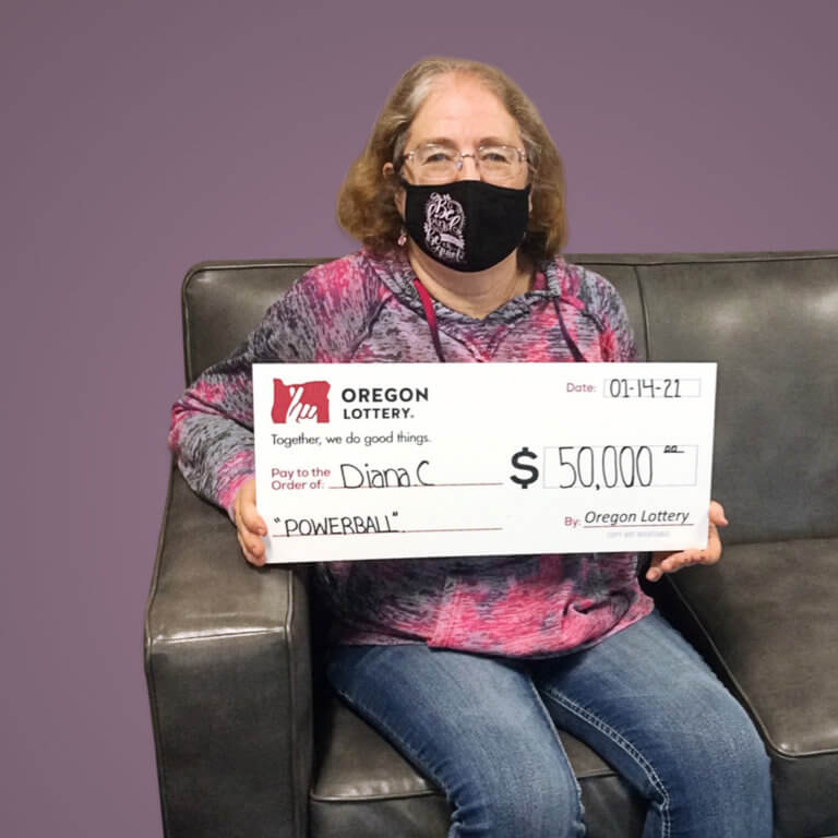 Powerball Winner Diana C